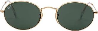Ray-Ban Óculos de Sol Redondo Dourado - Mulher - 54 US