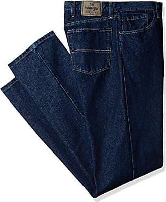Wrangler Authentics Mens Big and Tall Classic Regular Fit Jean, Dark Rinse, 48x32