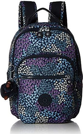 Kipling Womens Seoul GO Small Printed Backpack, Dotted Bouquet