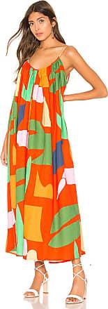 Mara Hoffman Fiona Dress in Orange