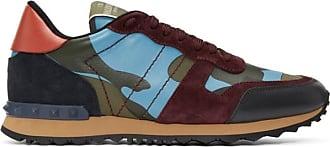 034e9ea903b4b Valentino Multicolor Valentino Garavani Camouflage Rockrunner Sneakers