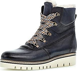 Stiefel & Stiefeletten Gabor 96.956-29 Damen Warmer TEX-Boots aus Nubukleder Wechselfußbett Gabor Comfort 96.956.29 Schuhe