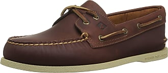 Sperry Top-Sider Mens A/O 2-Eye Pullup Boat Shoe, tan, 11.5 M US