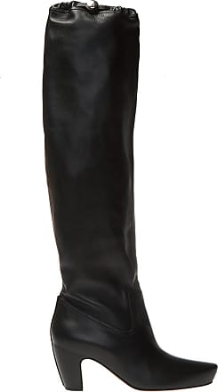 Lanvin Leather Boots Womens Black
