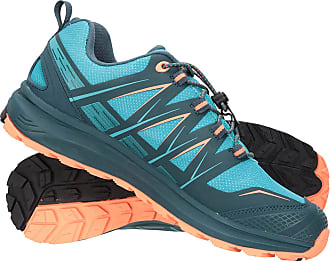 Mountain Warehouse Himalayas Womens Waterproof Approach Shoes - Lightweight Ladies Trainers, Mesh Upper, EVA Footbed - Best for Walking, Hiking, Gym & Outdoors Teal Wome