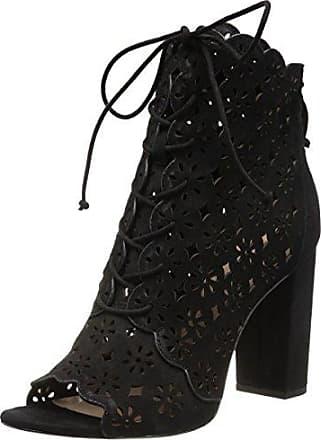 a1ea516b40 Rachel Zoe Womens Ashlee Peep Toe Bootie Ankle Boot, Black, 6.5 M US