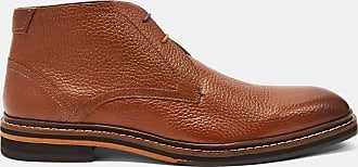 Ted Baker Leather Ankle Boots in Tan CORANS, Mens Accessories