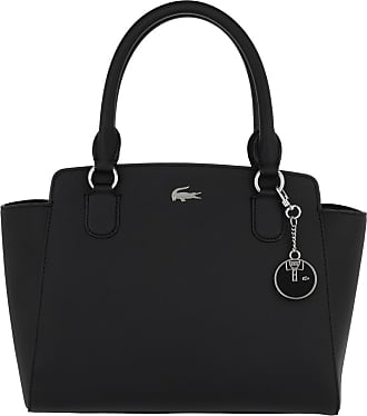 Lacoste Satchel Bags - M Shopping Bag Black - black - Satchel Bags for ladies
