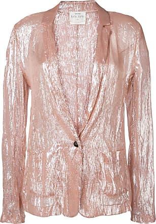 Forte_Forte single-breasted blazer - Pink