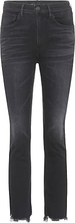 3x1 Jeans W3 Straight Authentic a vita alta