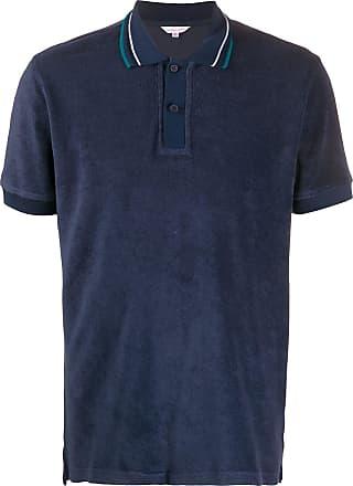 Orlebar Brown Camisa polo clássica - Azul