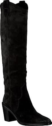 Notre-V Schwarze Notre-V Hohe Stiefel By6606x