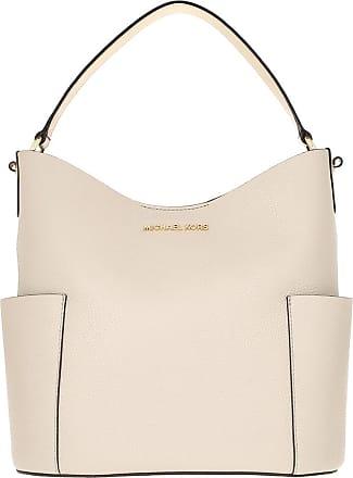 Michael Kors Bedford MD Bucket Shoulder Bag Light Sand
