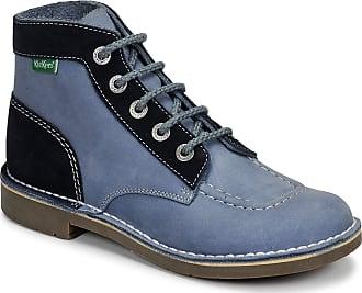 4cc9a8bf Kickers Womens Kick Col Ankle Boots, Blue (Bleu Jean 53), 7 UK