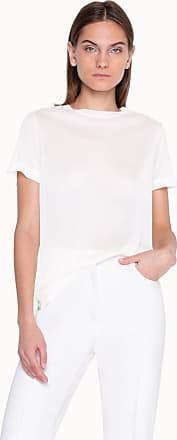 Akris T-shirt in Silk Jersey with Short Sleeves
