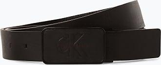 Calvin Klein Jeans Herren Ledergürtel schwarz
