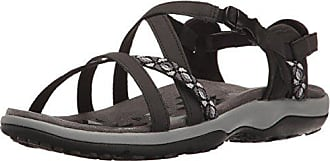 Skechers Reggae Slim Vacay Chocolate Women's Sandals Black