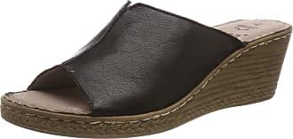 Jana Womens 8-8-27210-22 Mules, Black (Black 001), 6 UK