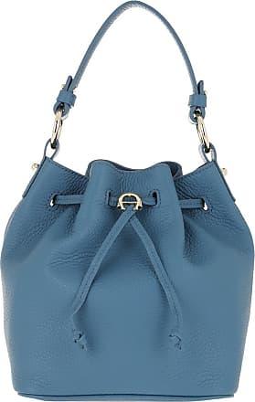 Aigner Bucket Bags - Tara Bucket Bag Dusky Blue - blue - Bucket Bags for ladies