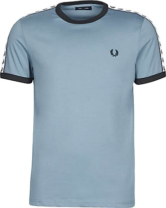 Fred Perry Taped Ringer T-Shirt, T-Shirt - XS Blue