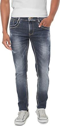 Sawary Calça Jeans Sawary Reta Azul Azul