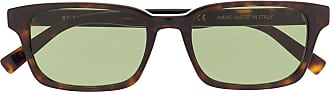 Retro Superfuture Regola rectangular frame sunglasses - Brown