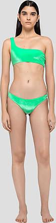 Msgm bikini in iridescent chenille