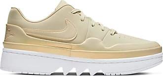 Nike Jordan Nike Womens AJ 1 Jester XX Low Laced SE Fossil CQ0278-200 (Size: 9.5)