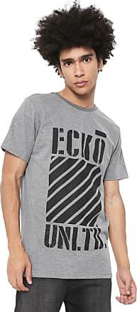 Ecko Camiseta Ecko Estampada Cinza