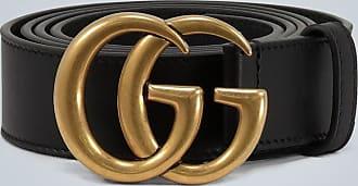 Gucci Cintura in pelle con Doppia G