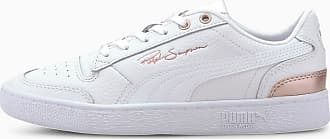 Puma Ralph Sampson Lo Metal Sneaker Schuhe | Mit Aucun | Weiß/Rosa | Größe: 35.5