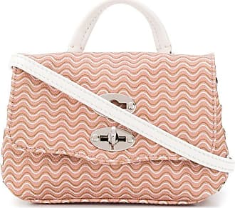 Zanellato Superbaby squiggle print mini bag - PINK