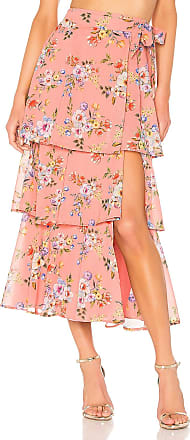 House Of Harlow X REVOLVE Sabine Wrap Skirt in Pink