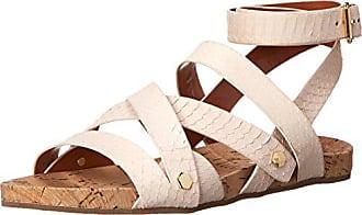 Rebecca Minkoff Womens Tristen Gladiator Sandal, Blush, 6 M US