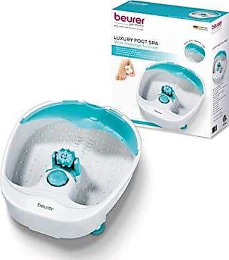 Beurer Relaxing Foot Spa Massager, a Professional Quality Foot Bath with 3 Massage Levels and Heat Function to Refresh and Detoxify Feet, FB13