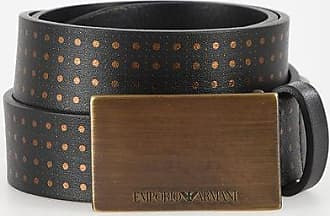 Armani EMPORIO 30mm Leather Belt size 90