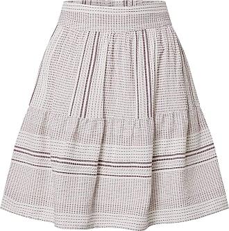 Vero Moda Womens VMHAZEL HW Skirt WVN, Snow White, L
