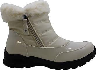 Easy Street Womens Frosty Closed Toe Mid-Calf Cold Weather Boots White Size: 9.5 Wide