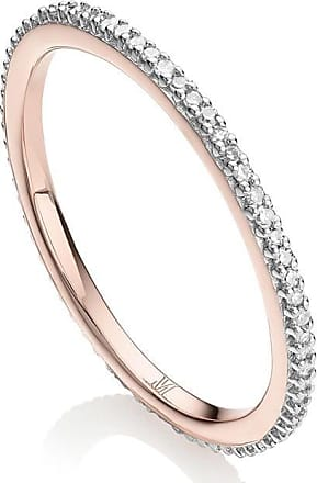 Monica Vinader Skinny Eternity Diamond ring - SILVER