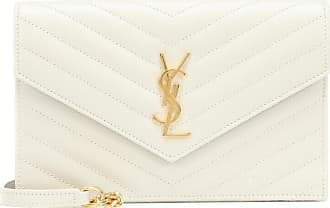 Saint Laurent Clutch portafoglio Envelope Monogram in pelle