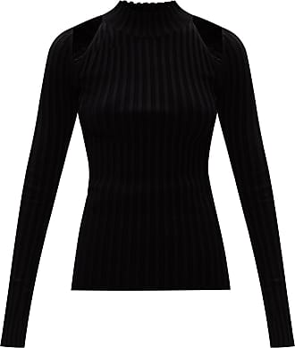 Helmut Lang Ribbed Sweater Womens Black