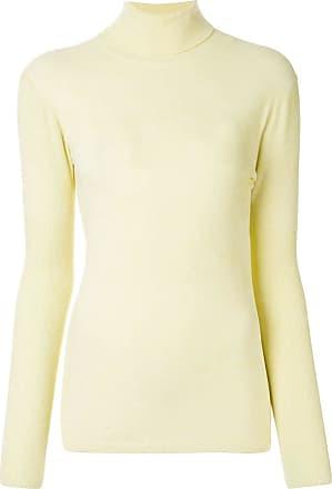 We11done turtleneck slim-fit jumper - Amarelo