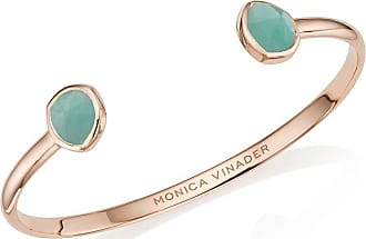 Monica Vinader Siren Thin Amazonite cuff - PINK