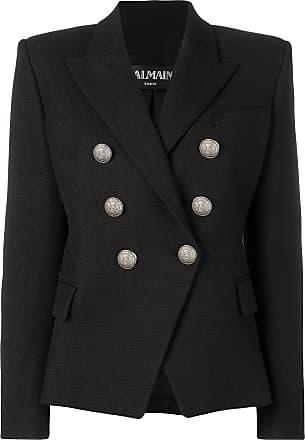 Balmain structured fit blazer - Preto