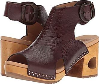 Dansko Octavia (Brown Tumbled Calf) Womens Clog/Mule Shoes