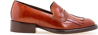 Sarah Chofakian fringed loafers - Color marrone