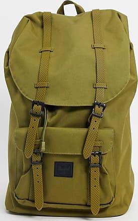 Herschel little america backpack in khaki green