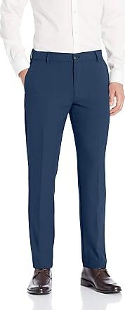 Van Heusen Mens Flex 3 Dress Pant, Blue Barge, 34W x 30L