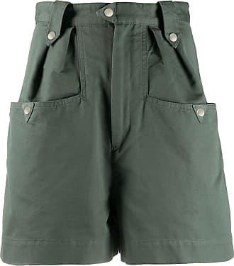 Isabel Marant Short cintura alta - Verde