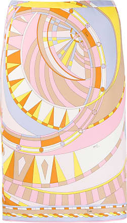 Emilio Pucci Saia slim com estampa abstrata - Estampado